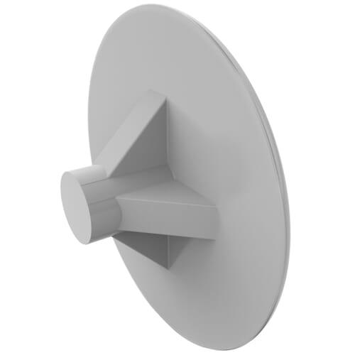 3mm x 13mm Pozidrive Screw Caps - LDPE Pure White/9010