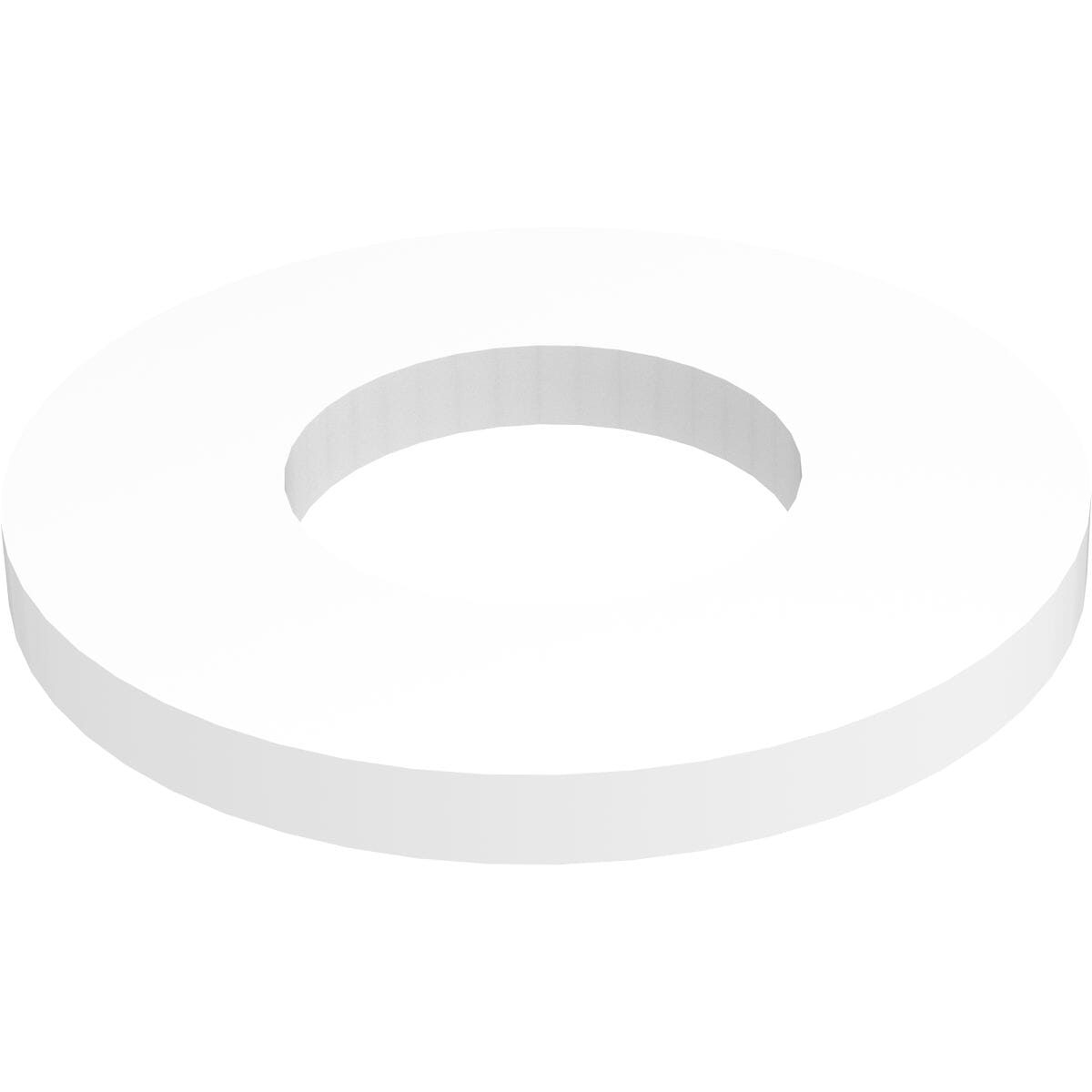 13.3mm x 22mm x 1.5mm Flat Washers - Nylon
