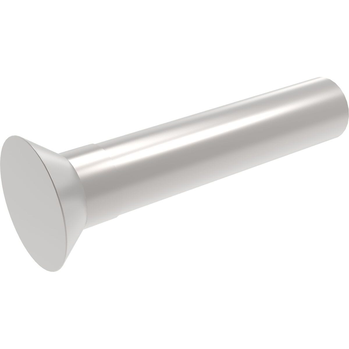 6mm x 40mm Countersunk Solid Rivets (DIN 661) - Stainless Steel (A2)