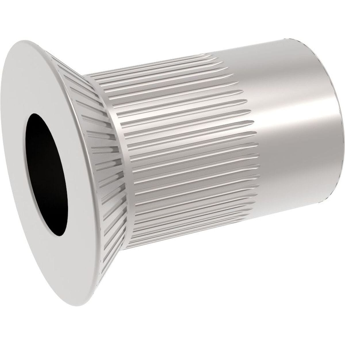 M8 x 19mm Knurled Countersunk Rivet Nuts - Stainless Steel (A2)