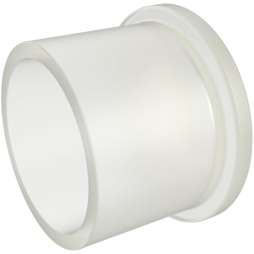 25.5mm x 17.7mm Straight Flanged Caps - Low Density Polyethylene