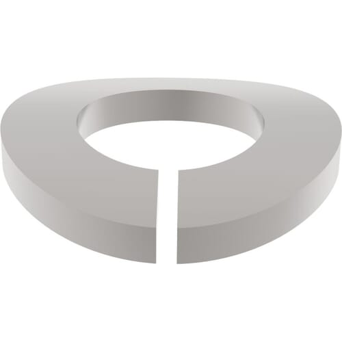M5 Split Spring Washers (DIN 128A) - Marine Stainless Steel (A4)