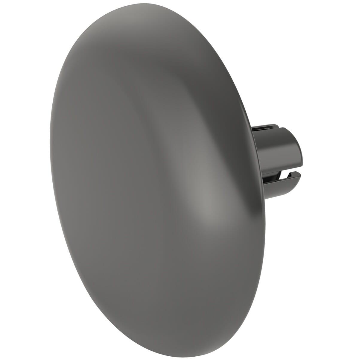 3.1-3.2mm x 5.5mm Snap Rivet P-Type - Black Polysulfone