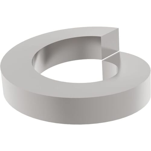 M5 Square Profile Spring Washers (DIN 7980) - Marine Stainless Steel (A4)