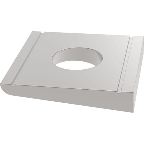 M16 Square Taper Washers For U-Sections (DIN 434) - Marine Stainless Steel (A4)