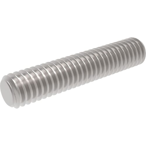 M8 x 1000mm Threaded Bars (DIN 975) - Stainless Steel (A2)