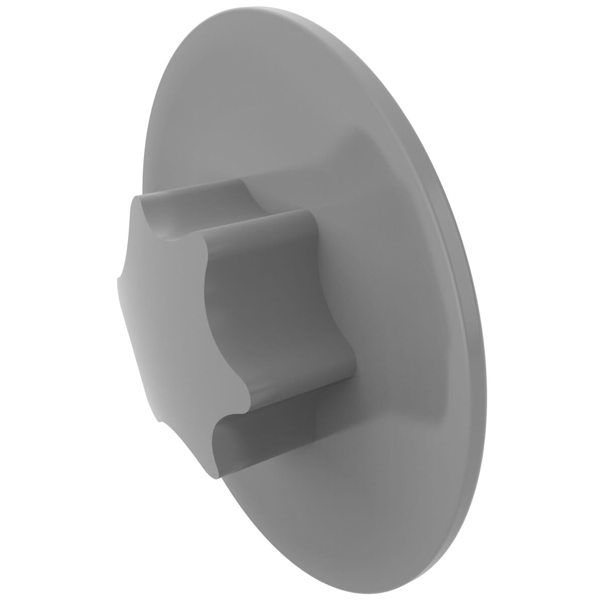 30 x 16.2mm Torx Screw Caps - Grey LDPE