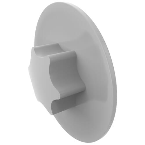 T15 x 12.0mm Torx Screw Caps - White LDPE