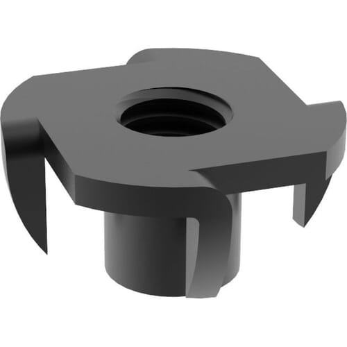 M5 Tee Nuts - Black Stainless Steel (A2)