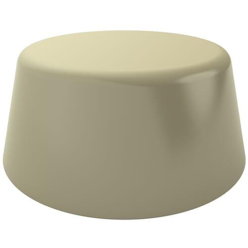 6.5mm High Profile Unicaps - Morning Grey Polypropylene