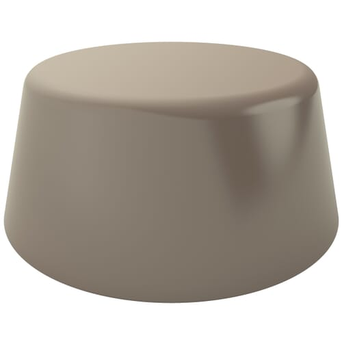 6.5mm High Profile Unicaps - Pantone Grey Polypropylene