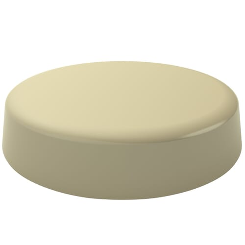 4.2mm Low Profile Unicaps - Stone Polypropylene