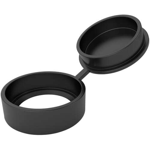 13.6mm x 3.4mm Uniscrew Caps - Black Polypropylene
