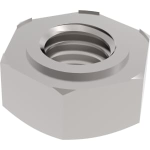 M6 Weld Nuts (DIN 929) - Marine Stainless Steel (A4)
