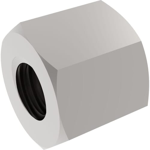 TR20x4 (20mm x 4mm Lead) Hexagonal Trapezoidal Lead Screw Nuts - Steel