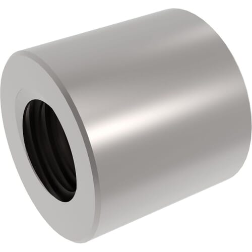 Steel Cylindrical Trapezoidal Lead Screw Nuts