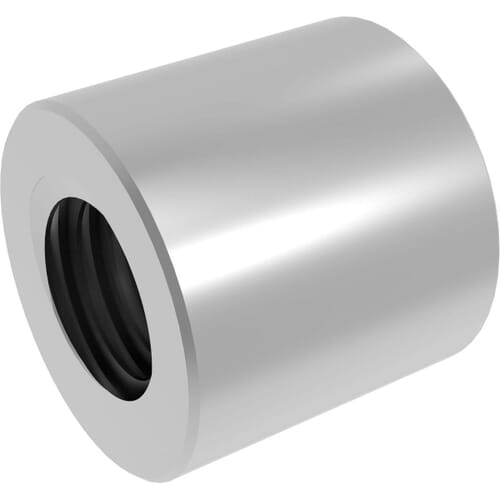 TR20x4 (20mm x 4mm Lead) Trapezoidal Cylindrical Lead Screw Nuts - Steel