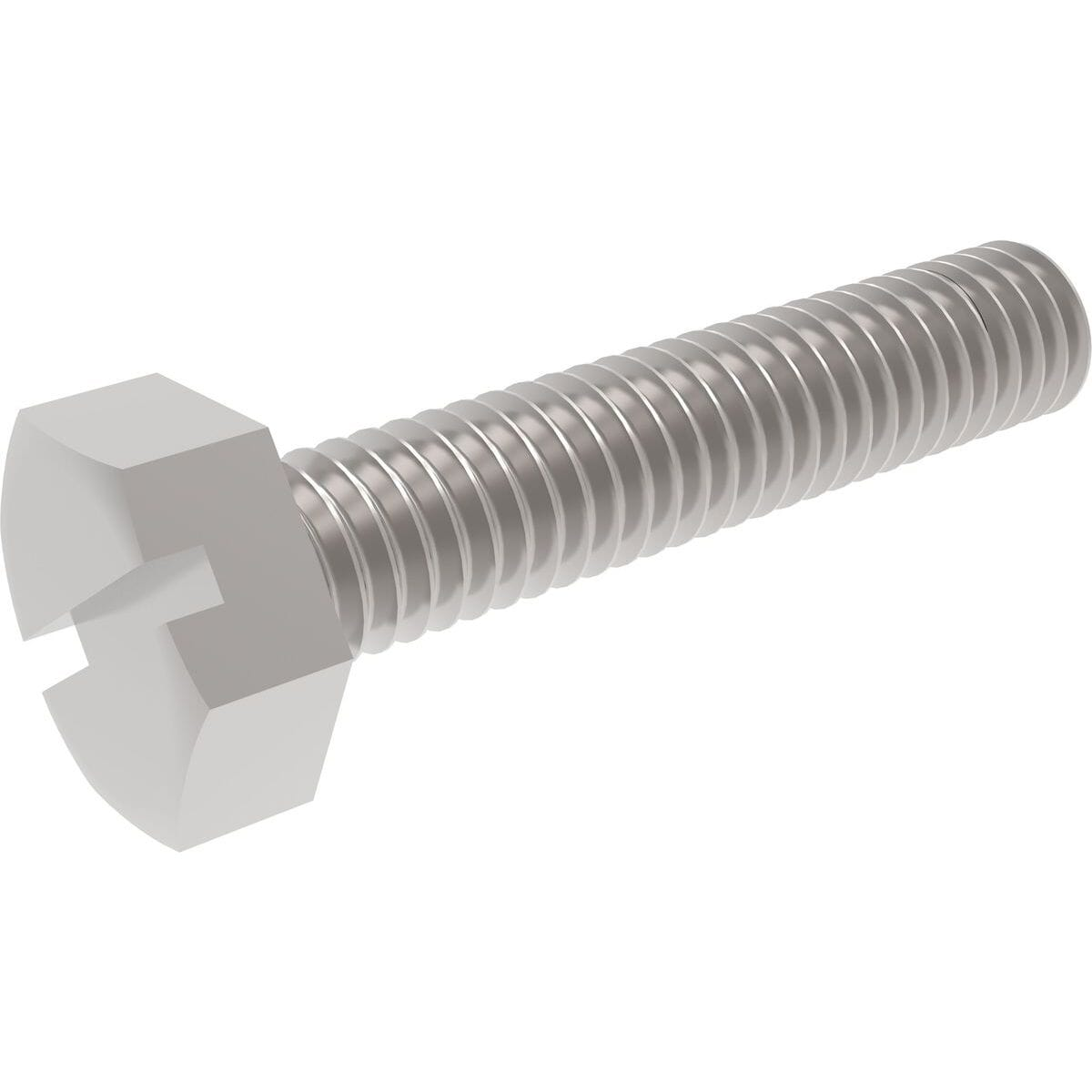 A4 STAINLESS STEEL M4 x 0.7mm STANDARD PITCH Metric HEX HEAD SET  BOLTS DIN 933