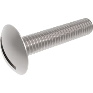 M3 x 5mm Slotted Mushroom Screws - Stainless Steel (A2)