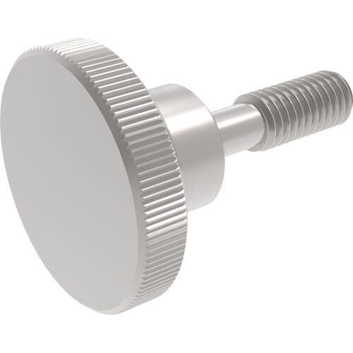 Knurled Captive Thumb Screws - DIN 464