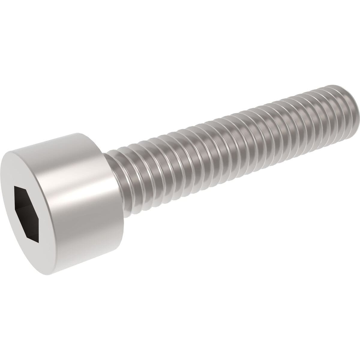 M8 x 10mm Full Thread Cap Head Screws (DIN 912) - Stainless Steel (A2)