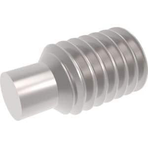 M12 x 60mm Dog Point Set / Grub Screws (DIN 915) - Marine Stainless Steel (A4)