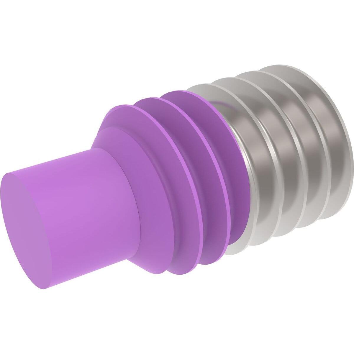 M16 x 70mm Dog Point Set / Grub Screws (DIN 915) - Thread Locking Marine Stainless Steel (A4)