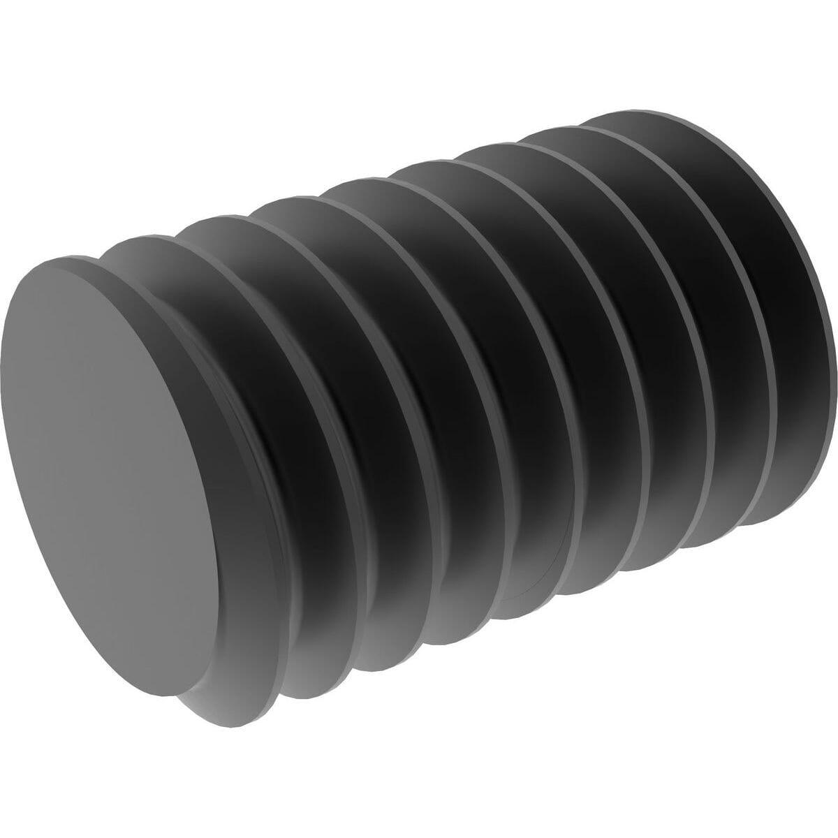 M4 x 16mm Flat Point Set / Grub Screws (DIN 913) - 14.9 Hardened Steel