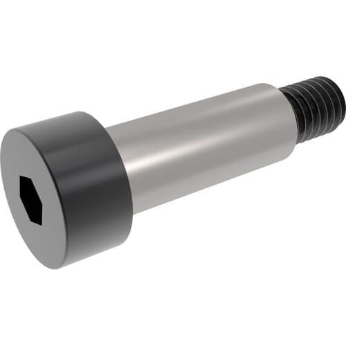 M6 (8mm) x 20mm Socket Shoulder Screws (ISO 7379) - 12.9 Hardened Steel