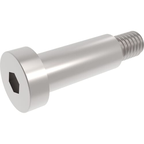 Low Head Socket Shoulder Screws