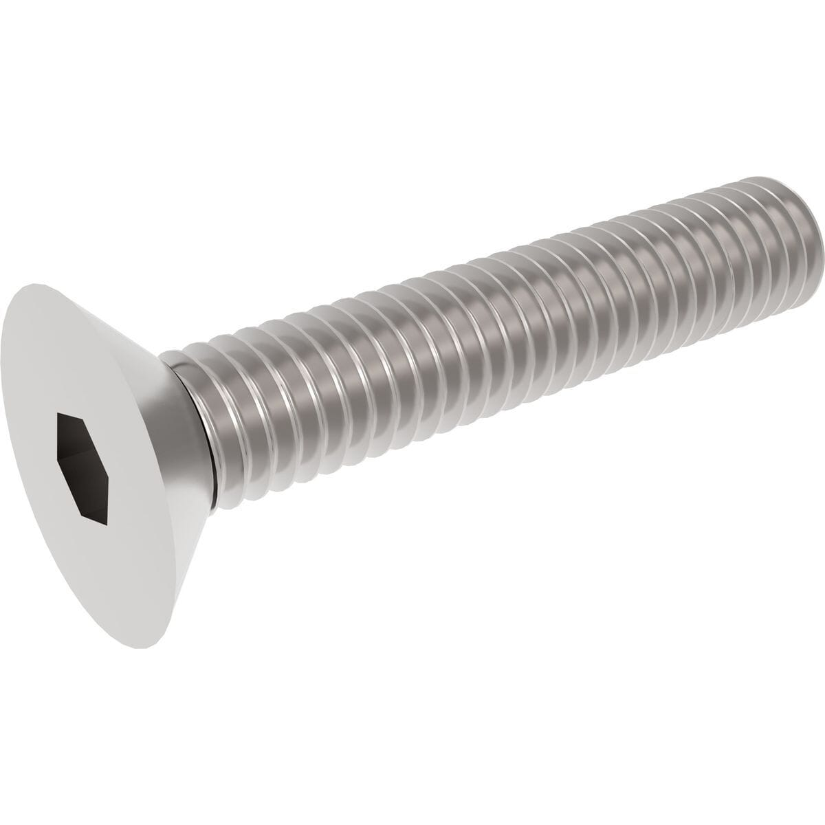 M5 x 40mm Socket Countersunk Screws (ISO 10642) - Stainless Steel (A2)