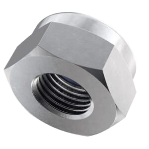 M5 High Nylon Locking Nuts (DIN 982) - Marine Stainless Steel (A4)