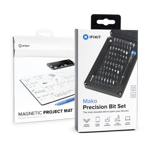 iFixit Bundle - Mako 64-Bit Driver Kit & Magnetic Project Mat Pro