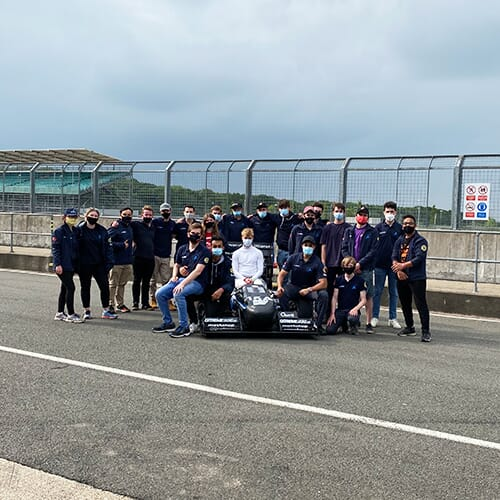 SUFST & Stag VI at Silverstone for Formula Student 2021
