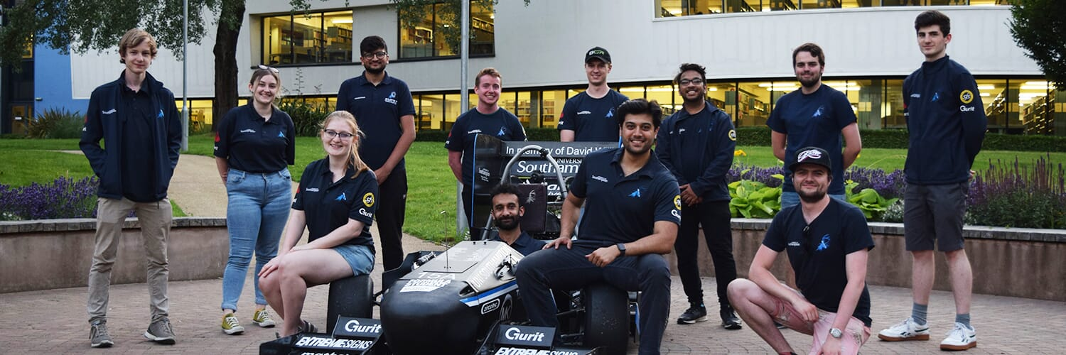 Accu Continues Southampton University Formula Student Team Sponsorship As They Look To The Future Of Electric Racing